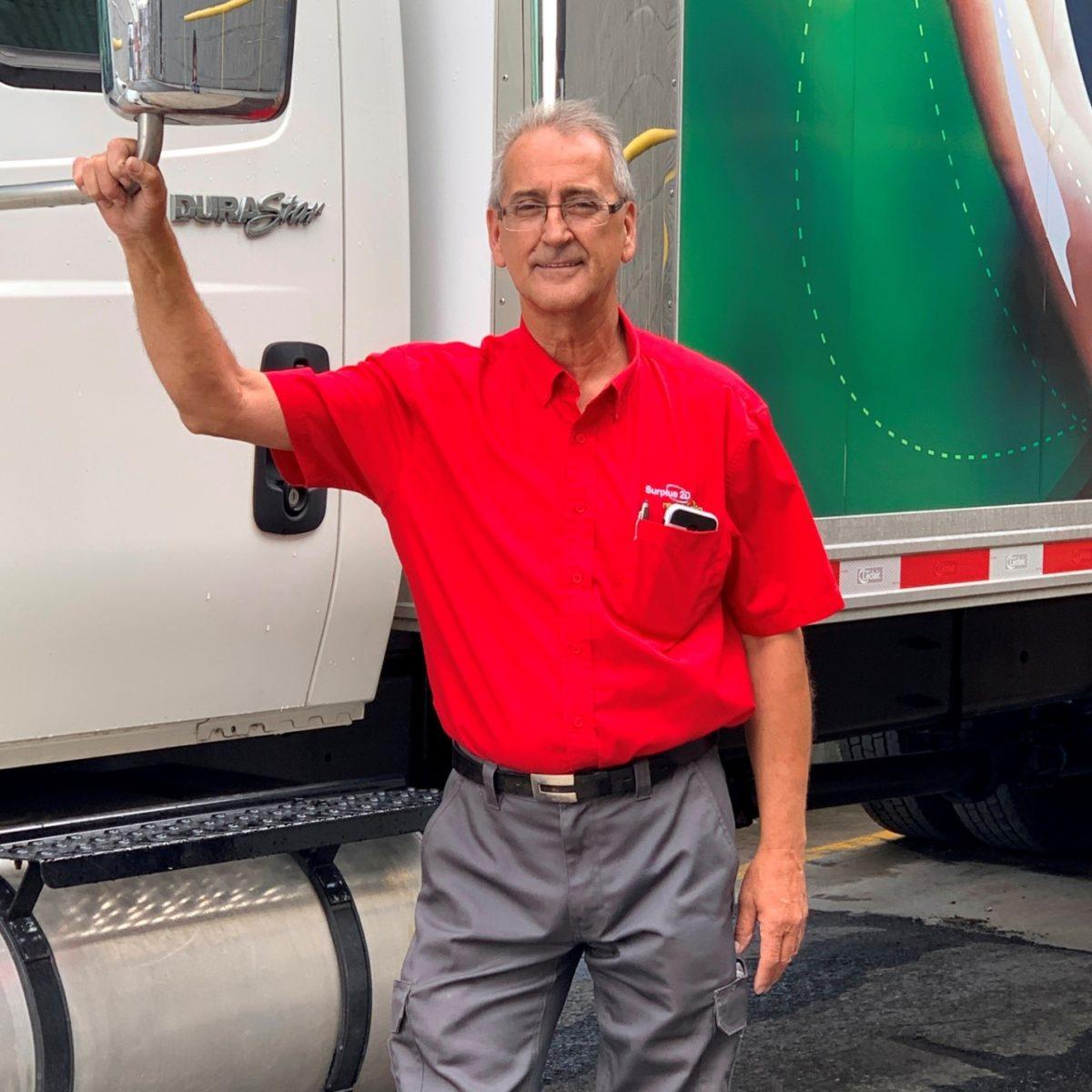 Luc Trépanier Truck Driver Surplus2D Team